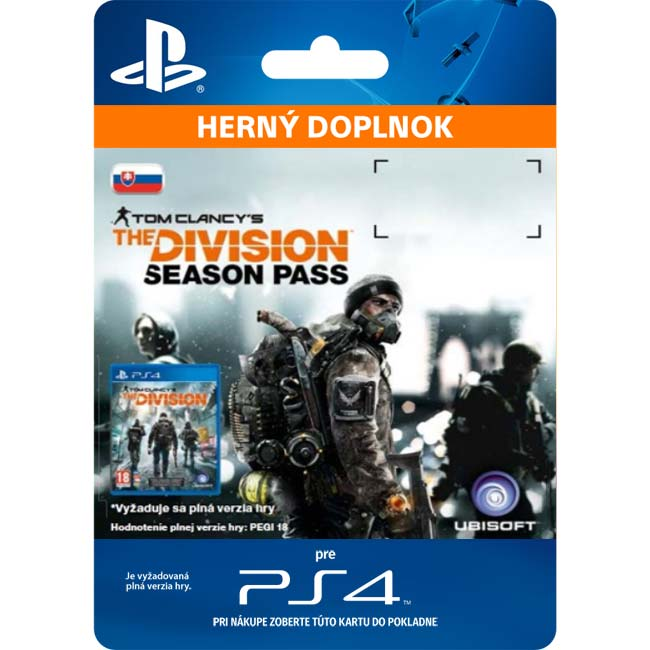 Tom Clancy's The Division CZ (SK Season Pass)