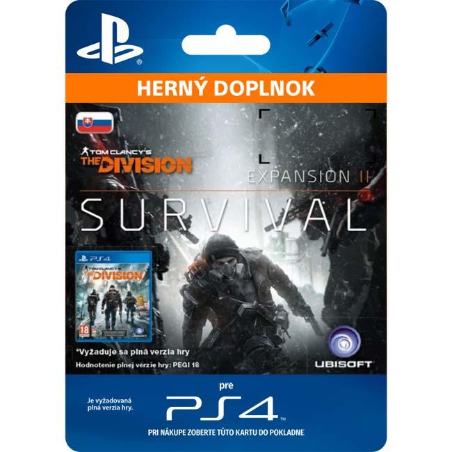 Tom Clancy's The Division CZ (SK Survival)