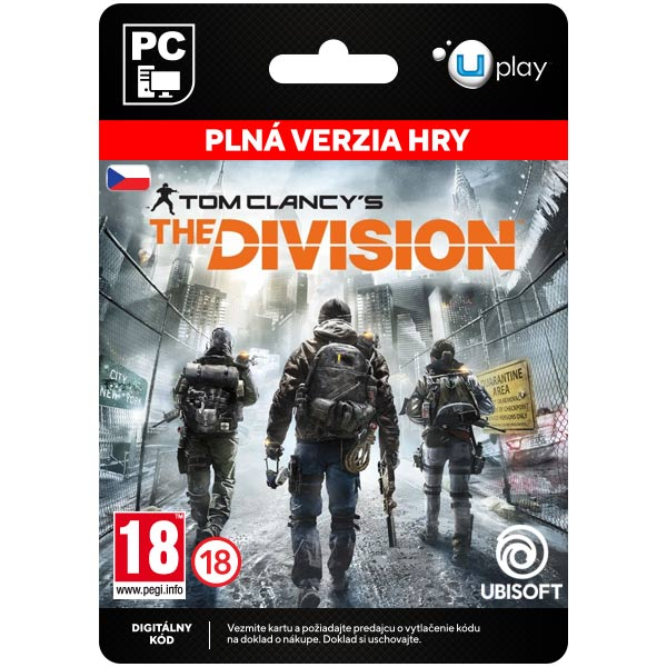 Tom Clancy's The Division CZ [Uplay]