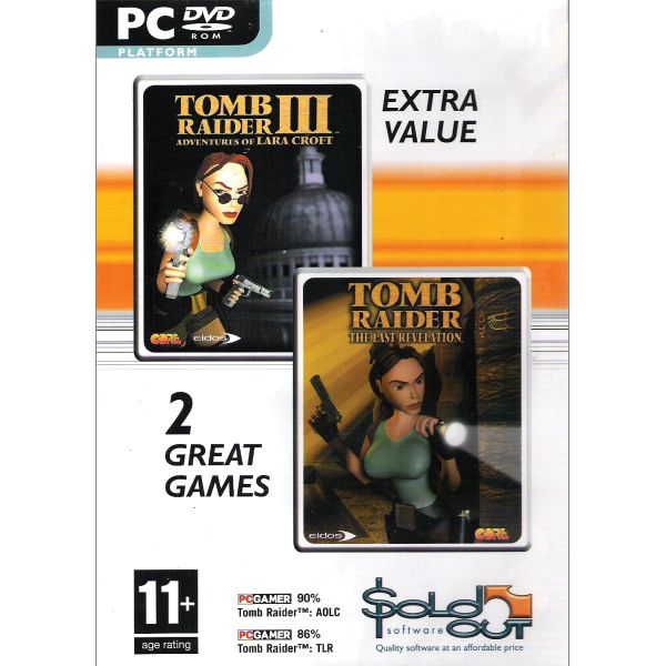 Tomb Raider 3: Adventures of Lara Croft + Tomb Raider: The Last Revelation