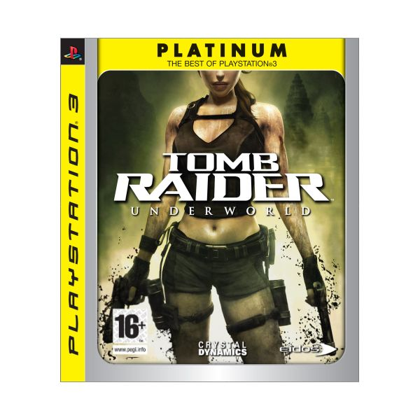 Tomb Raider: Underworld-PS3 - BAZ�R (pou�it� tovar)