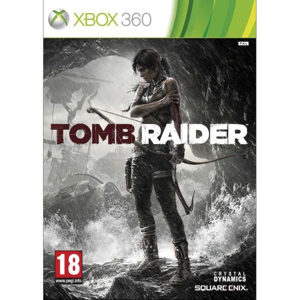 Tomb Raider- XBOX 360- BAZÁR (použitý tovar)