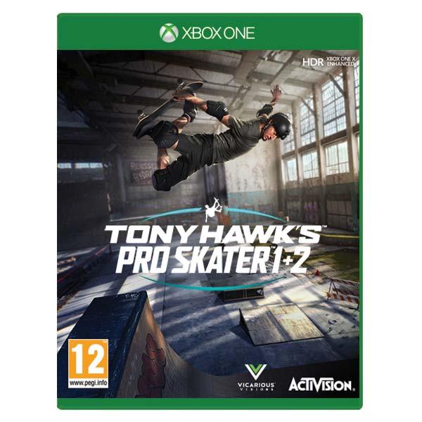 Tony Hawk's Pro Skater 1+2 [XBOX ONE] - BAZÁR (použitý tovar)