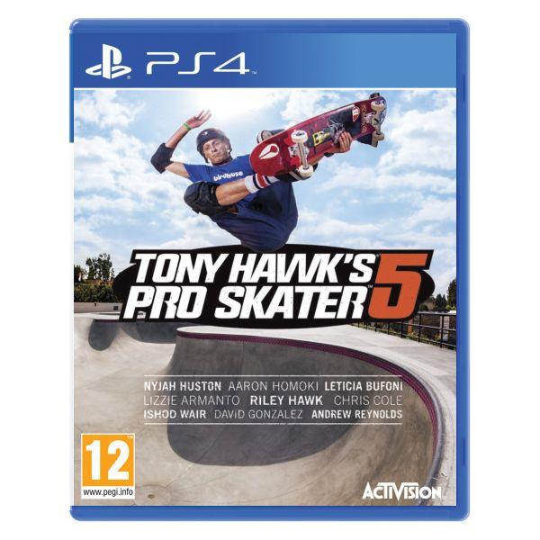 Tony Hawk's Pro Skater 5 [PS4] - BAZÁR (použitý tovar)