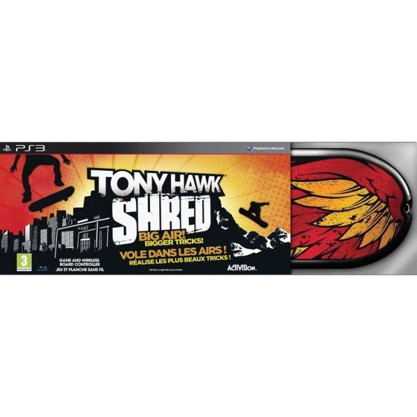 Tony Hawk: SHRED + skateboard [PS3] - BAZÁR (použitý tovar)