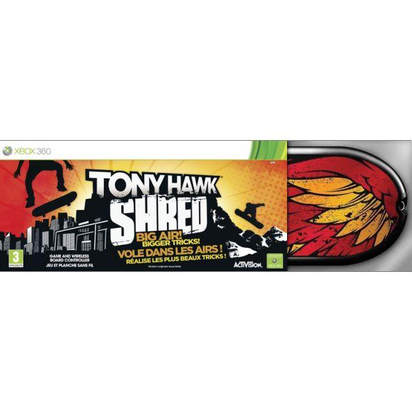 Tony Hawk: SHRED + skateboard [XBOX 360] - BAZÁR (použitý tovar)