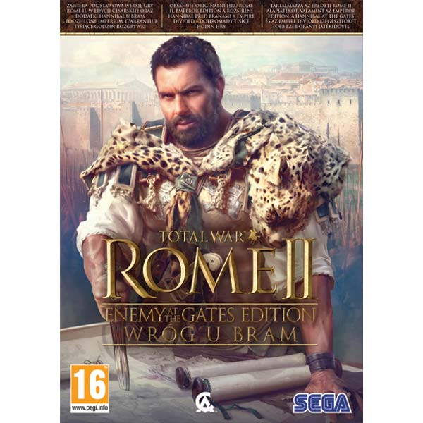 Total War: Rome 2 (Enemy at the Gates Edition) PC CD-key