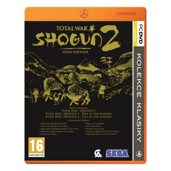 Total War: Shogun 2 CZ (Gold Edition)