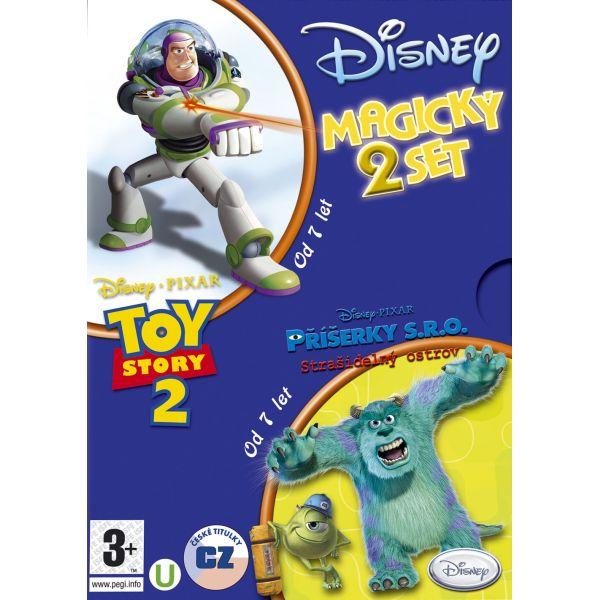 Toy Story 2 CZ + Príšerky s.r.o.: Strašidelný ostrov CZ (Disney Magický 2 Set)