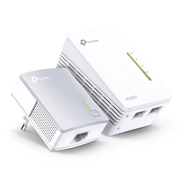 TP-Link TL-WPA4220Kit N300 Powerline Extender Starter Kit, white