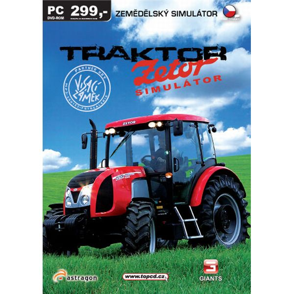 Traktor: Zetor simulátor CZ