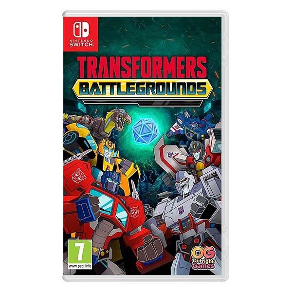 Transformers: Battlegrounds (Digital Deluxe Edition) NSW