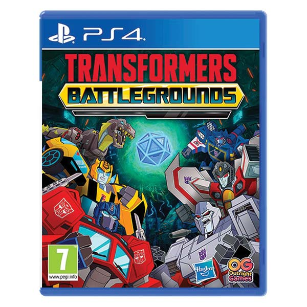 Transformers: Battlegrounds (Digital Deluxe Edition) PS4