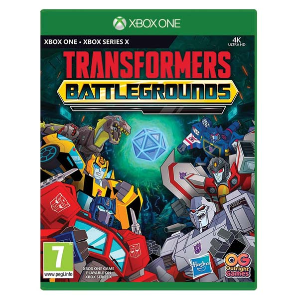 Transformers: Battlegrounds (Digital Deluxe Edition) XBOX ONE