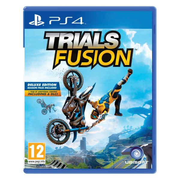 Trials Fusion [PS4] - BAZÁR (použitý tovar)