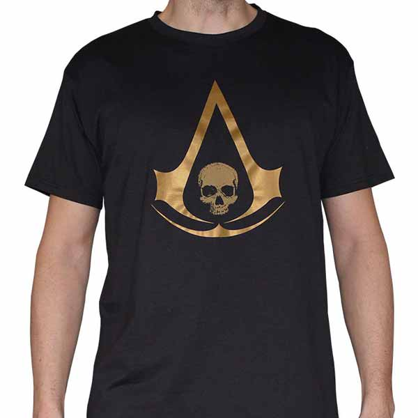 Trièko Assassin's Creed 4: Black Flag Gold M