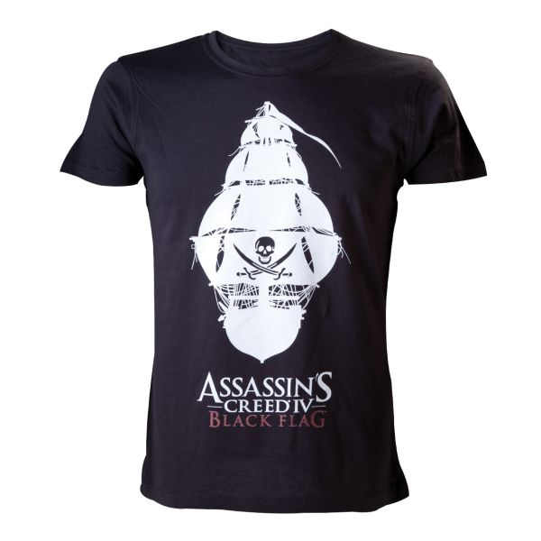 Trièko Assassin's Creed 4 Black Flag: Pirate Ship XL
