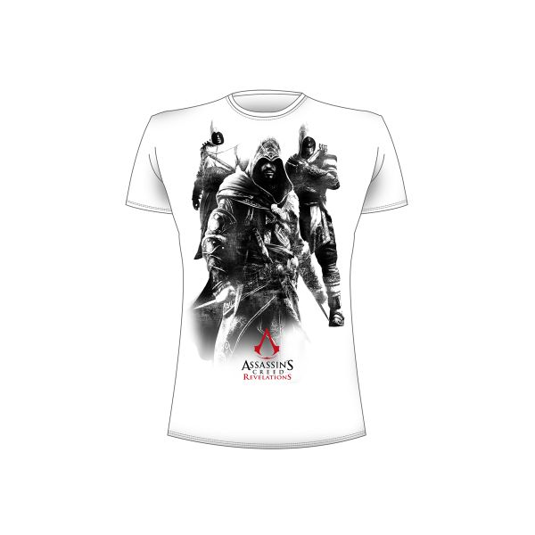 Tričko Assassin's Creed: Revelations, white XL