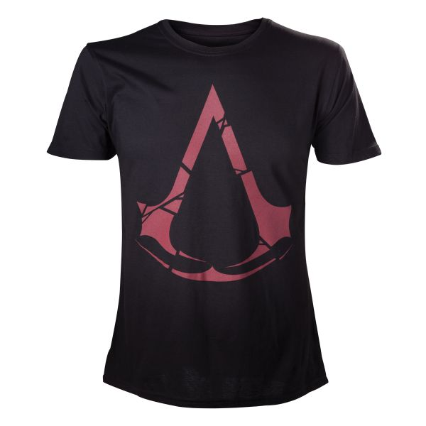 Tričko Assassin's Creed: Rogue, black/red L