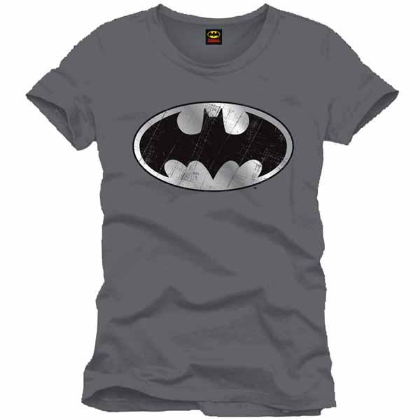 99ec985ad3 Tričko Batman Silver Logo S