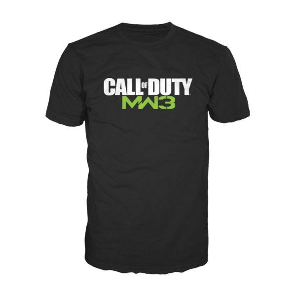 Tričko Call of Duty MW3: Logo, black XL
