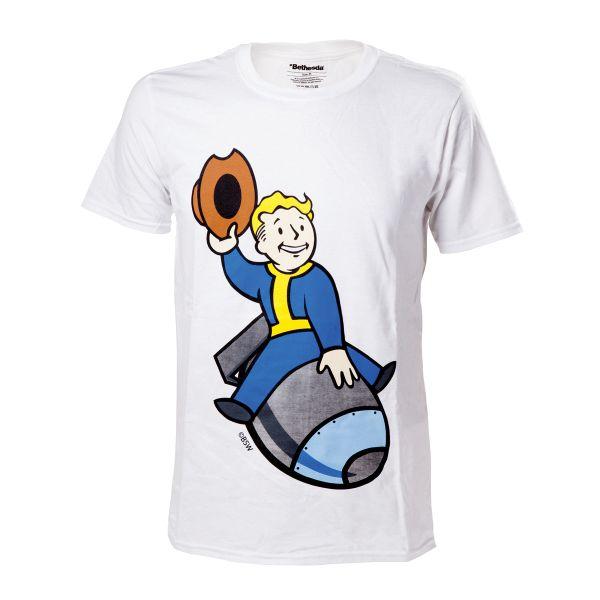 Tričko Fallout 4: Vault Boy Bomber M