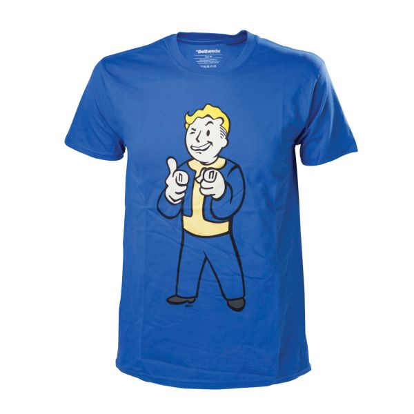 Tri�ko Fallout 4: Vault Boy Shooting Fingers S