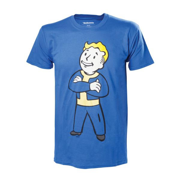 Tričko Fallout 4: Vault Boy with Crossed Arms M