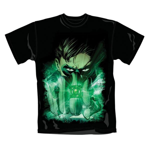 Trièko Green Lantern: Close Up, Xlarge