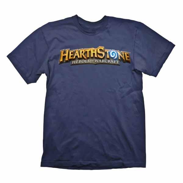Tričko Hearthstone Logo Navy L