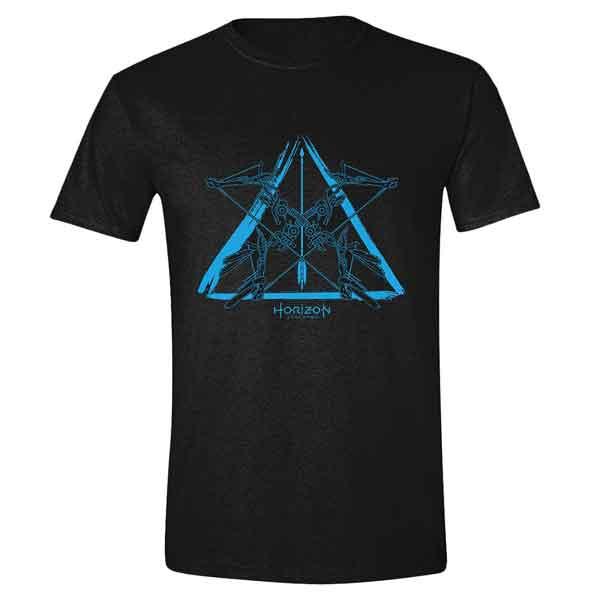Trièko Horizon: Zero Dawn - Blue Logo XL