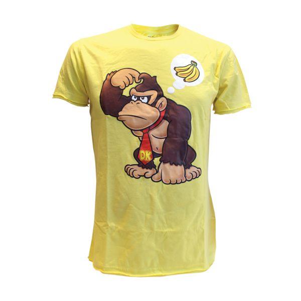 Trièko Nintendo Donkey Kong Wants Banana yellow, xlarge