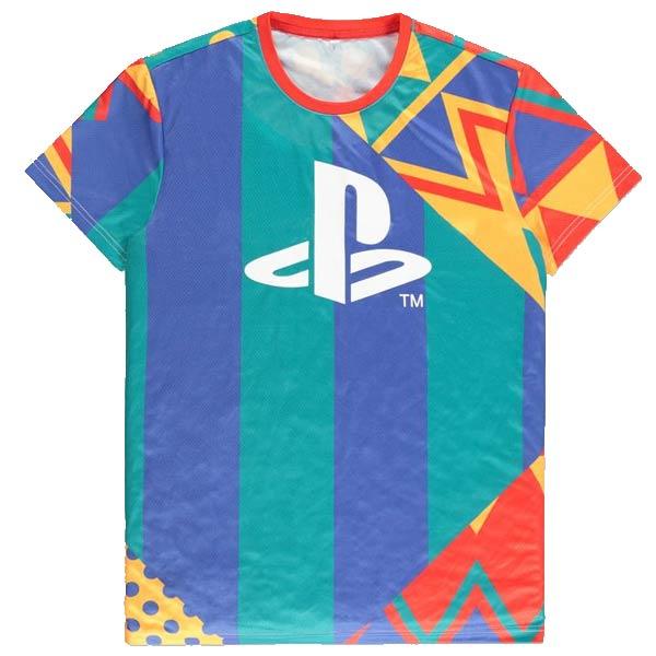 Tričko Playstation AOP XL
