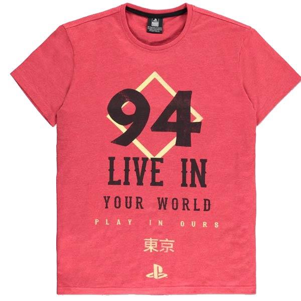Tričko PlayStation Since 94 L