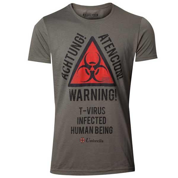 Trièko Resident Evil - Biohazard Warning L