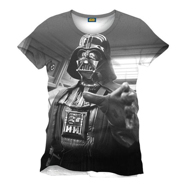 Tričko Star Wars: Darth Vader Full Printed XL