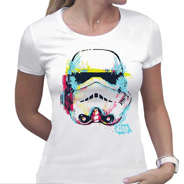 Tričko Star Wars: Graphic Trooper Lady S