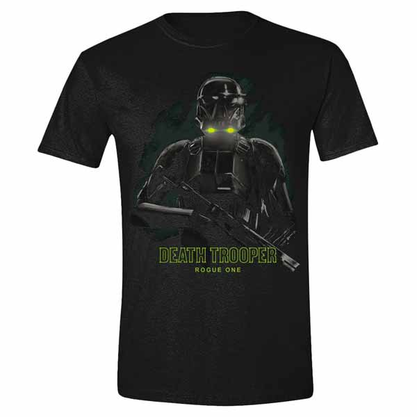 Tričko Star Wars Rogue One - Death Trooper Fog M