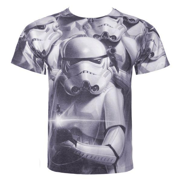 Tričko Star Wars: Troopers Full Printed L