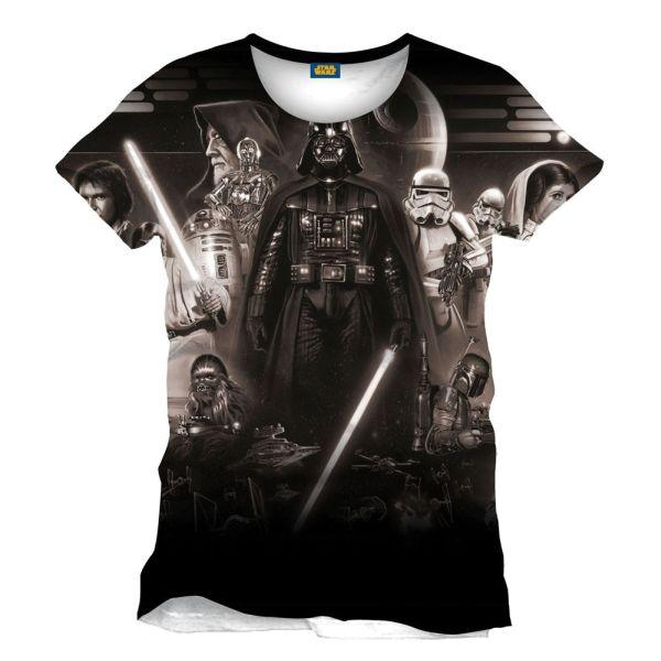 Tričko Star Wars: Vader Memories XL