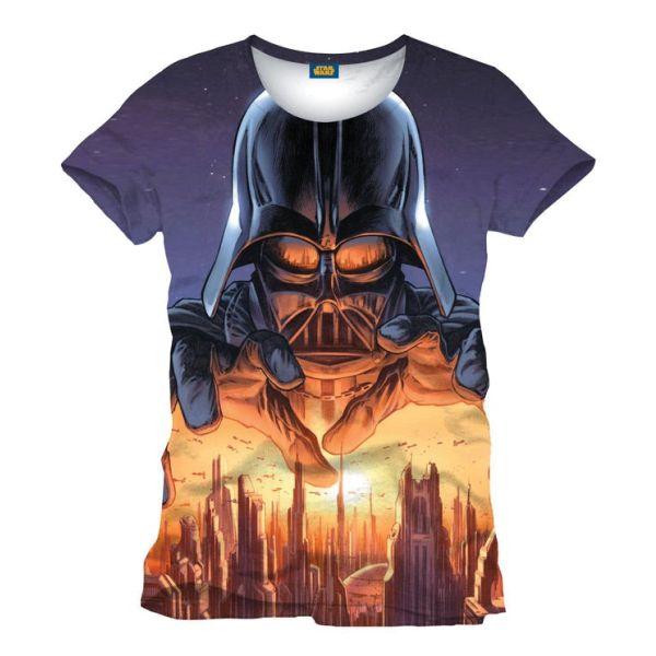 Tričko Star Wars: Vader Menace XL