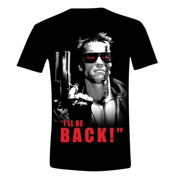 Trièko Terminator: I'll be Back XL