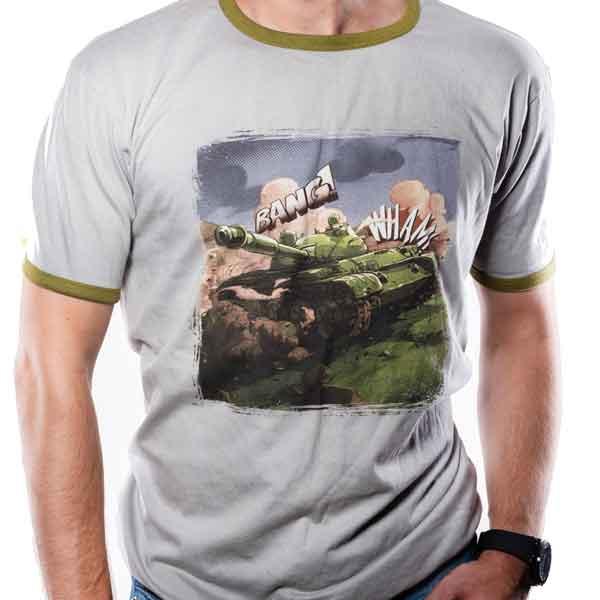 Tričko World of Tanks - Comic Tank L (Good Loot) 5908305221975