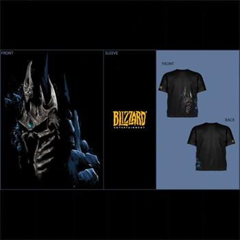 Tri�ko World of WarCraft: Wrath of the Lich King, large
