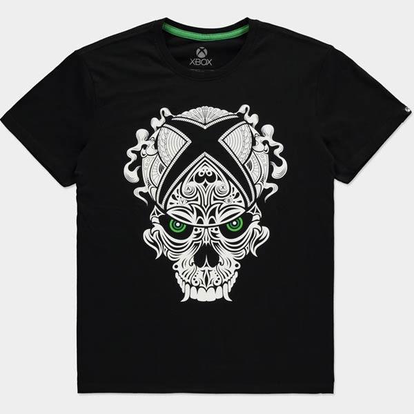 Tričko Xbox Skull 2XL