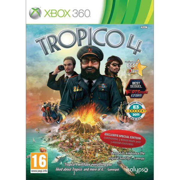 Tropico 4 (Exclusive Special Edition) XBOX 360