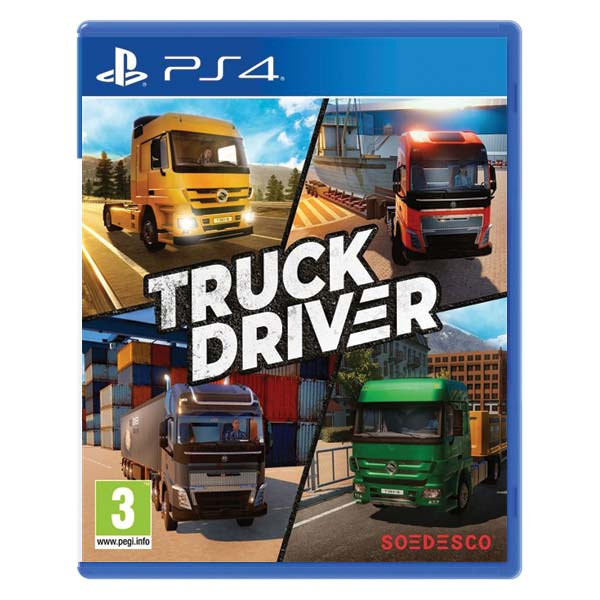 Truck Driver [PS4] - BAZÁR (použitý tovar)