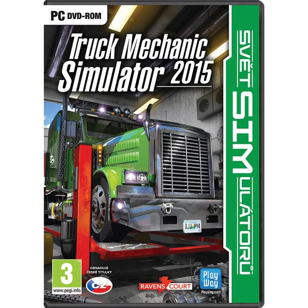 Truck Mechanic Simulator 2015 CZ