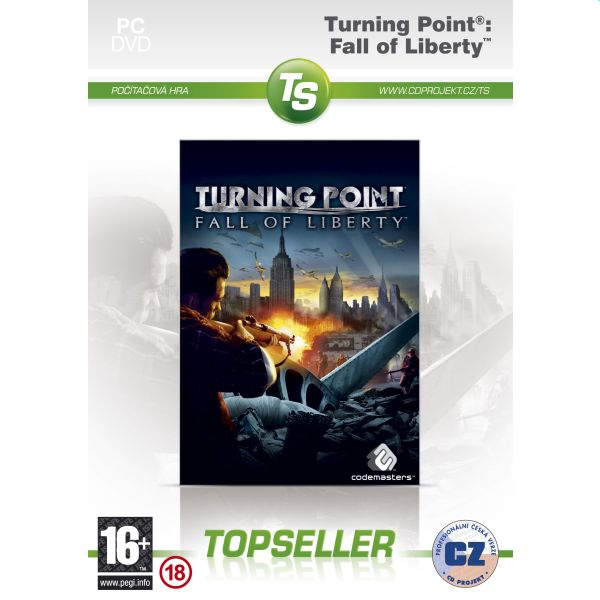 Turning Point: Fall of Liberty CZ (TopSeller)