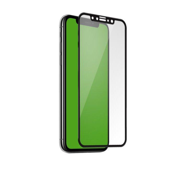 Tvrdené sklo SBS 4D Full Glass s aplikátorom pre iPhone 11 Pro/XS/X, black